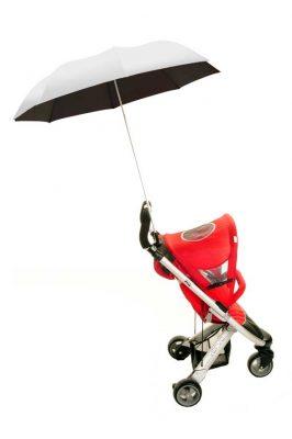 Buggy Brolly - Silver