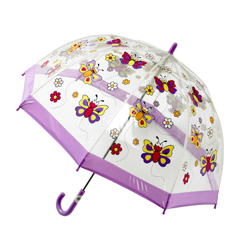 Childrens Butterflies Umbrella