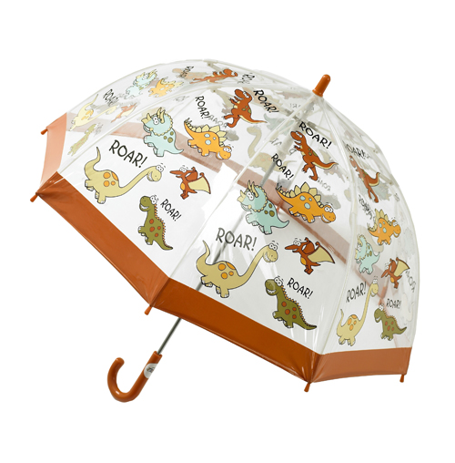 Childrens Dinosaur Umbrella PVC