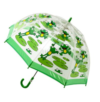 Childrens PVC Umbrella - Frogs