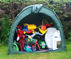 Toy Tidy ToyTidy outdoor toy storage solution