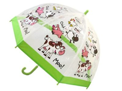 Childrens PVC Umbrella - Farm Yard