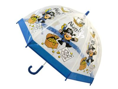 Childrens PVC Umbrella - Pirate