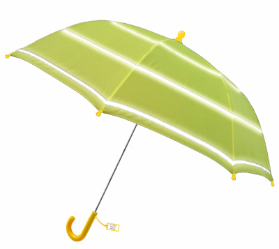 Childrens Hi-Vis Safety Umbrella Yellow