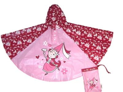 Childrens Princess Rain Poncho